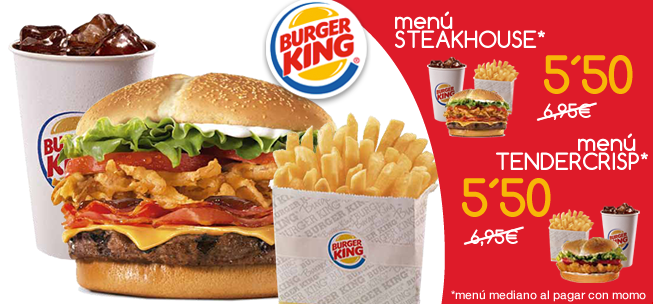 burger king y momo