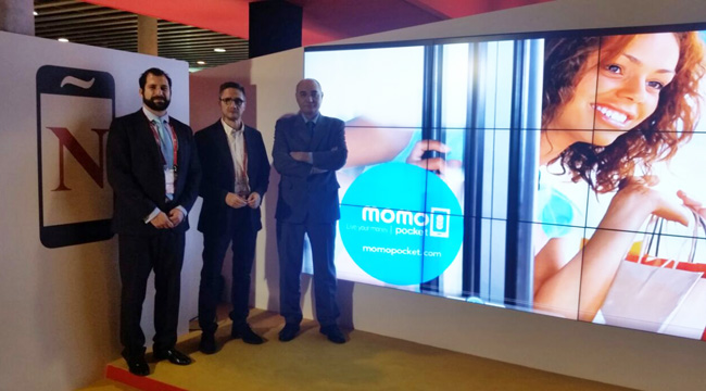 Presentación Momo Pocket EDE en el Mobile World Congress Barcelona 2015